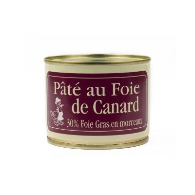 Pâté de canard au foie gras avec morceaux