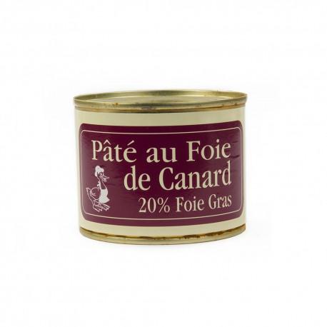 Pâté de canard au foie gras sans morceaux