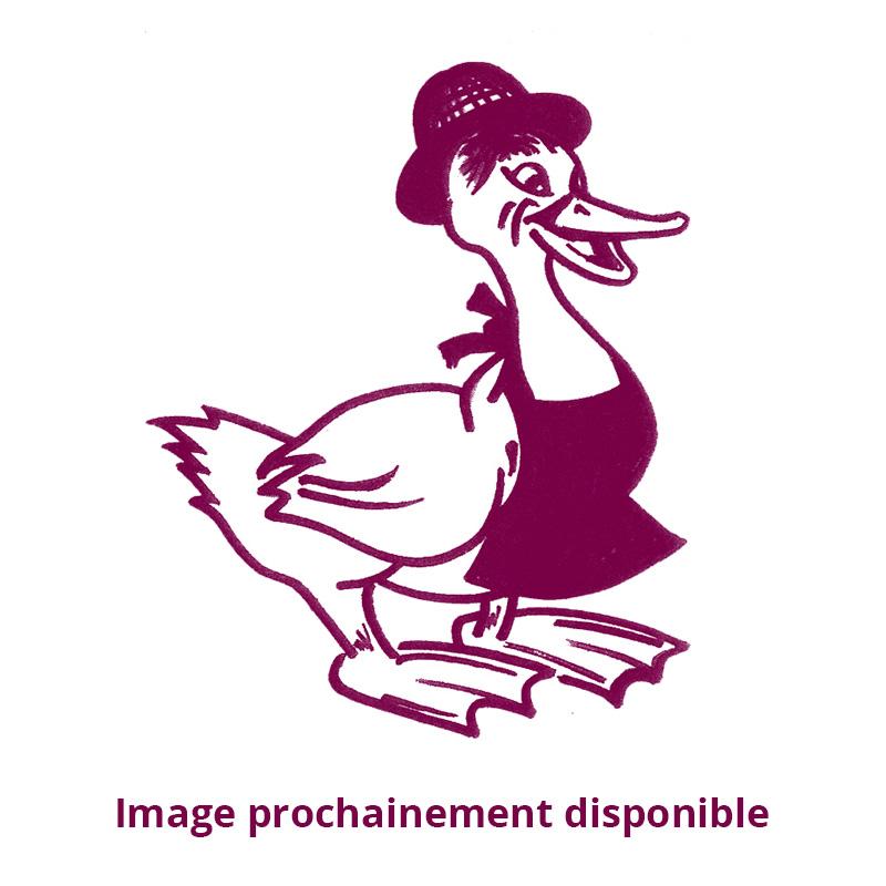 Rôti de magret fourré au foie gras mi-cuit